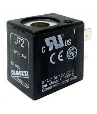 Mágnestekercs 12V DC 5W U72