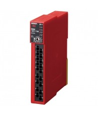Safety relay unit, 24 VDC, 4 safety outputs 5 A max (2+2 with 5 s off delay), aux. output