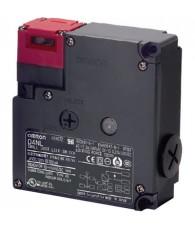 Zárható reteszelésű biztonsági ajtókapcsoló, mechanikus reteszelés, 24VDC elektromos oldás, érintkezők: 1 bontó / 1 záró + 1 bo