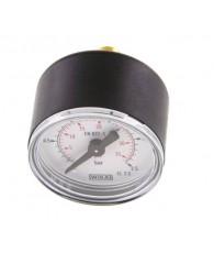 40-es manométer hátsó csatlakozás 0÷2,5 bar G 1/8 MW 2,540