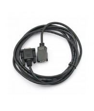 RS-232C csatlakozóval ellátott kábel a CS1/CJ1/CQM1H/CPM2C PLC programozókonzol portjához, 2 m.