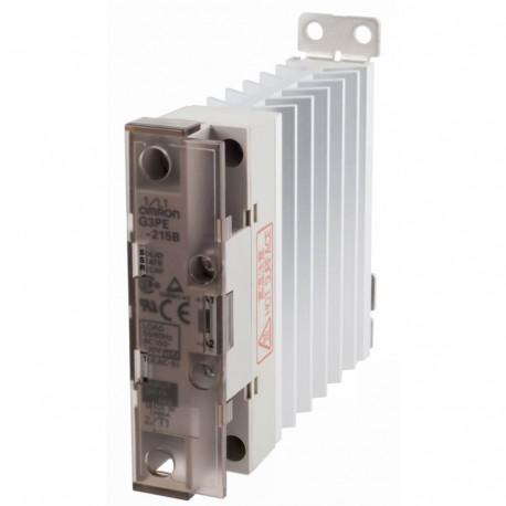 Szilárdtestrelé hűtőbordával 12-24VDC / 15A / 100-240VAC