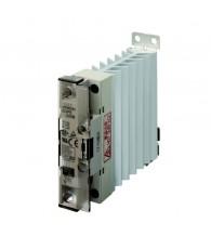 Szilárdtestrelé hűtőbordával 12-24VDC / 25A / 100-240VAC