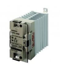 Szilárdtestrelé hűtőbordával 12-24VDC / 45A / 100-240VAC