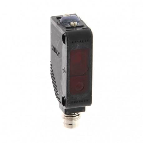 Fotoelektromos érzékelő, tárgyreflexiós, érzékelési távolság 25-300mm, PNP-kimenet, M8 csatlakozóval