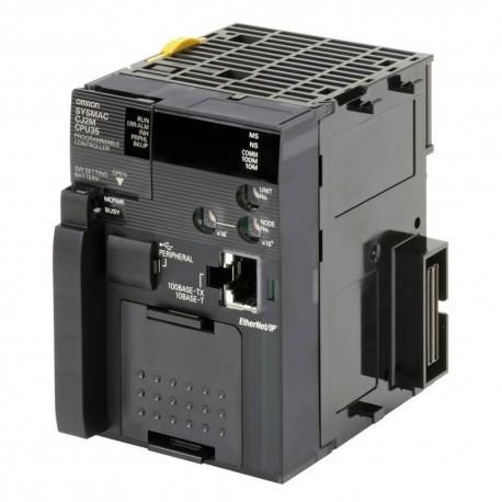 PLC központi egység, 10 k lépés beépített programtároló RAM-al, real time órával, 32 k szó 16 bites adattároló memória (DM)-, 32