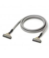 I/O csatlakozókábel mindkét végén 40 pólusú MIL (XG4M-4030-T) csatlakozóval. 2 m