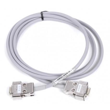 RS-232C csatlakozókábel OMRON PLC beépített soros portja és NT/NB/NS terminál közé, vagy PLC - PLC kapcsolathoz.