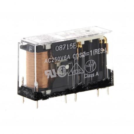 Kis méretű biztonsági relé 2NO+2NC, 24VDC
