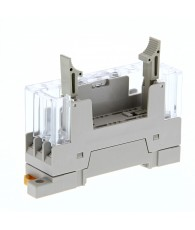 DIN-sínre szerelhető biztonsági relé foglalat. (G7SA-3A1B, G7SA-2A2B biztonsági relékhez)