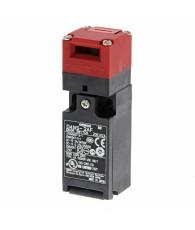Muanyag tokozású biztonsági ajtókapcsoló. 2 nyitó és 1 késleltetett záró érintkezővel. Tömszelence méret: M20