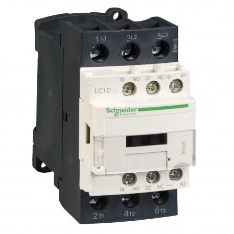 DC mágneskapcsoló, 15kW/32A (400V, AC3), csavaros csatlakozás, 1Z+1NY