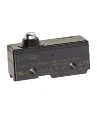 General purpose basic switch, short spring plunger, SPDT, 15 A, solder terminals