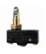 General purpose basic switch, panel mount cross roller plunger, SPDT, 15A