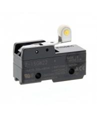 General purpose basic switch, short hinge roller lever, SPDT, 15 A, solder terminals