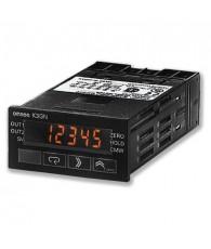 Intelligens panelműszer feszültség, áram, frekvencia méréshez digitális kijelzéssel, 2 relé kimenettel. Tápfeszültség: 24 VDC